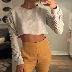 Revolve cropped sweater